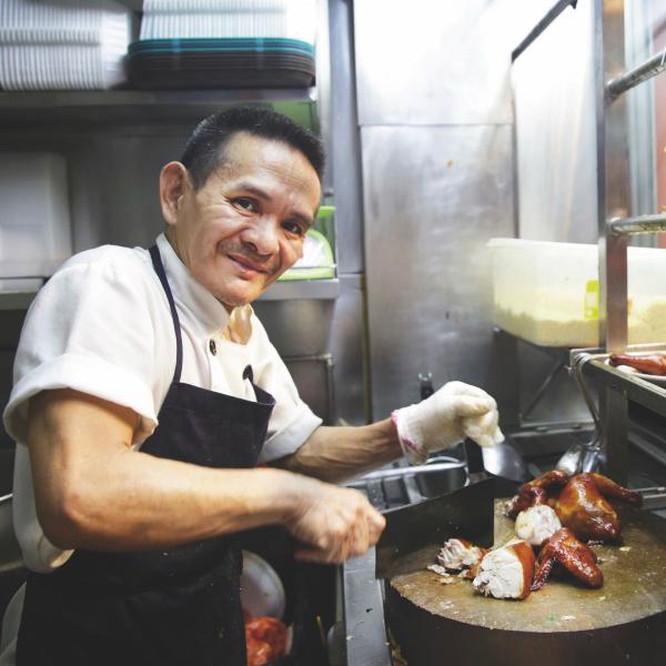 Street food Singapur